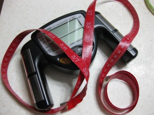 BMI Monitor & tape measure