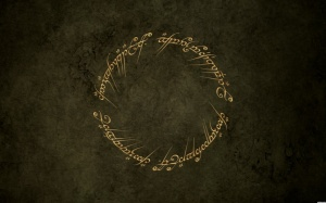 """One ring to rule them all. One ring to find them. One ring to bring them all. And in the darkness, bind them."""