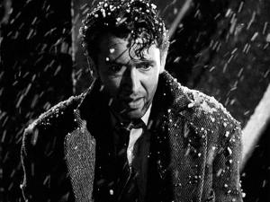 A depressed George Bailey.