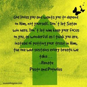 Renate - God loves you
